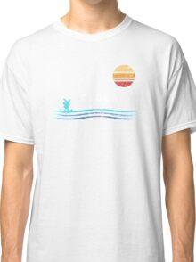 Pokemon Sun and Moon - Alolan Raichu Surfing Classic T-Shirt