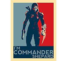 FemShep - I'm Commander Shepard Photographic Print