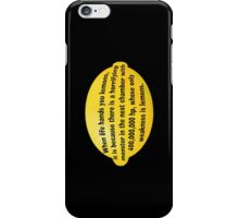 Lemon iPhone Case/Skin