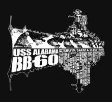 USS Alabama (BB-60) T-Shirt