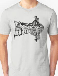 USS Alabama (BB-60) Unisex T-Shirt