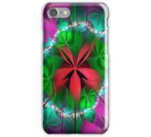 red ribbon iPhone Case/Skin