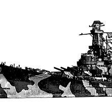 USS Alabama (BB-60) by deathdagger