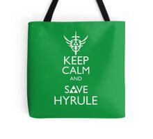 Keep Clam and Save Hyrule Tote Bag