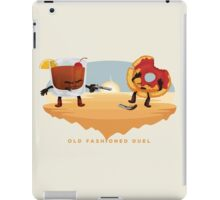 Old Fashioned Duel iPad Case/Skin