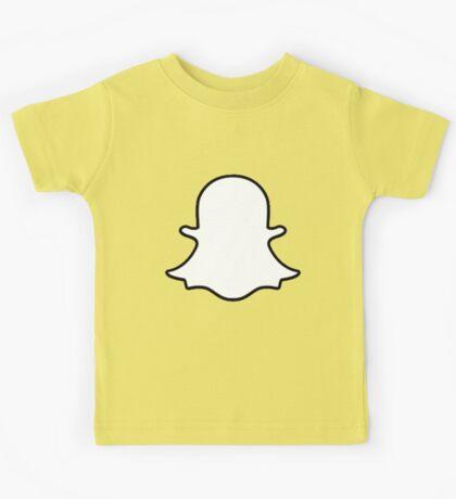 Snapchat Logo Kids Tee