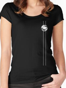 Celly  Women's Fitted Scoop T-Shirt