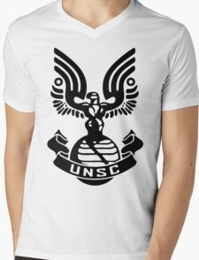 Halo - UNSC Mens V-Neck T-Shirt
