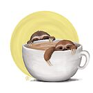 Sloths and Coffee by pamadak