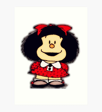 Phone Cases & Skins mafalda Art Print