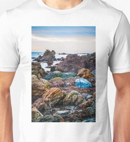 Colorful Rocky Coast Unisex T-Shirt
