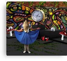 Go Ask Alice... Canvas Print
