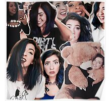 The Gabbie Show Collage Poster