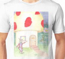 Mr. Rabbit's Toadstool House Unisex T-Shirt