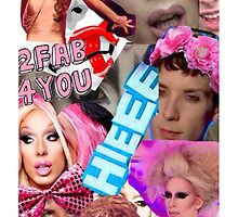 Rupaul's Drag Race Alaska Collage by ren-inspace