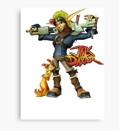Jak and Daxter Canvas Print