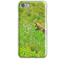 Fox On The Hunt iPhone Case/Skin