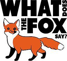 Ylvis The Fox Photographic Print