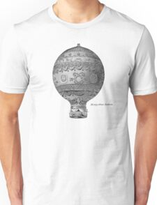 Vintage Hot Air Balloon - Montgoltiers Unisex T-Shirt