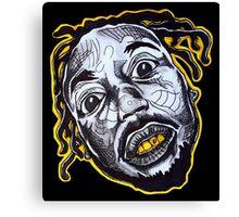 OFF iNDiViDUALS x I LIKE IT RAW series Canvas Print