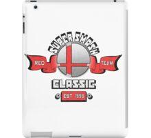 Super Smash Classic Red Team iPad Case/Skin