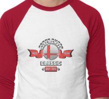 Super Smash Classic Red Team Men's Baseball ¾ T-Shirt
