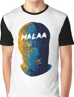 Malaa face art Graphic T-Shirt