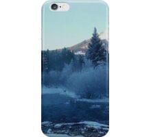 Blue River Winter iPhone Case/Skin