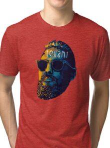 Tchami face art Tri-blend T-Shirt