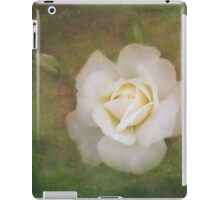 The delicate harmony of a rose iPad Case/Skin