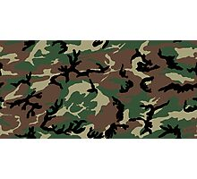 Jungle Camouflage - Green Photographic Print