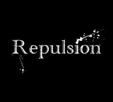 Repulsion Word Logo - White by repulsionmusic