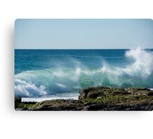 Splashback Canvas Print