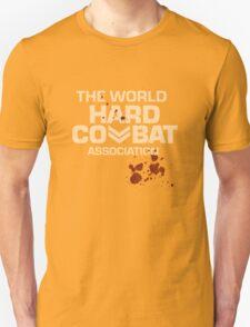 Hard Combat  Distressed T-Shirt