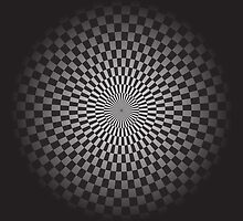 Round geometrical background by IraMukti