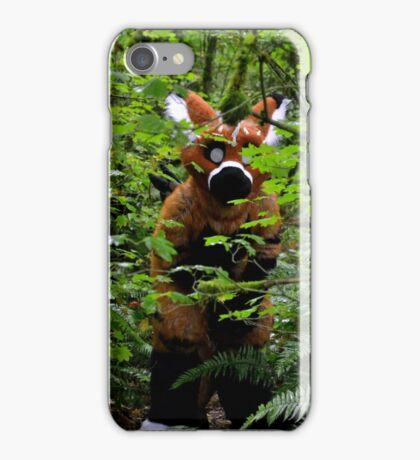 Dragon in the woods iPhone Case/Skin