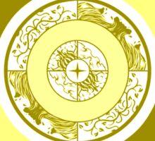 Spiritual Compass (air) Sticker