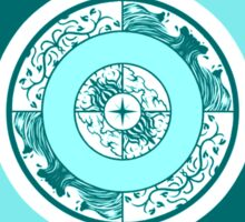 Spiritual Compass (water) Sticker