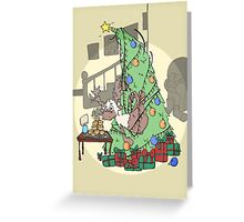 "Fun Christmas Card ""Dasher"" Greeting Card"