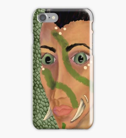 Young Orcish Woman iPhone Case/Skin