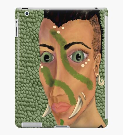 Young Orcish Woman iPad Case/Skin