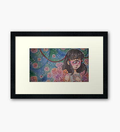 Cyclops doll Framed Print
