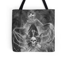Watch Out For The Ghouls During Halloween Tote Bag