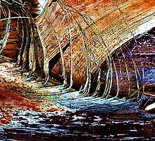 Nature as Artist 4 by JEANNE KIELY