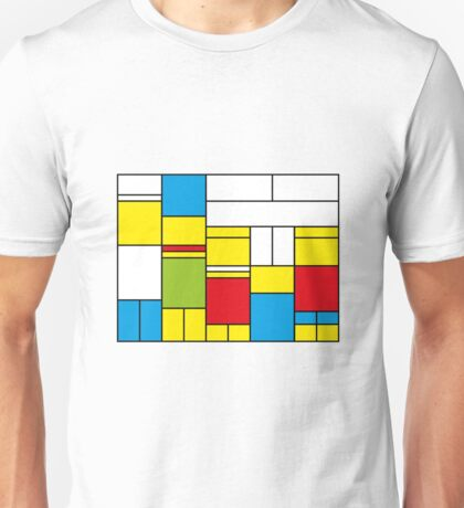 Mondrian ca 1989 - The Simpsons Unisex T-Shirt