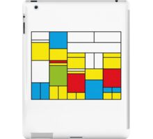 Mondrian ca 1989 - The Simpsons iPad Case/Skin