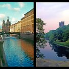 Russian-English Cathedral Composite by Priscilla Turner