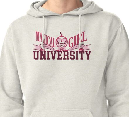 Magical Girl University Pullover Hoodie