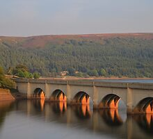 Ashopton Viaduct Peak District by Martin Fuge