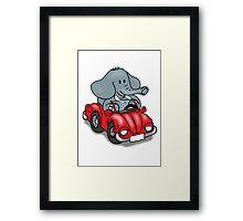 Elephant VW Framed Print